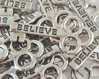 Believe Mini Keys - SET OF 10