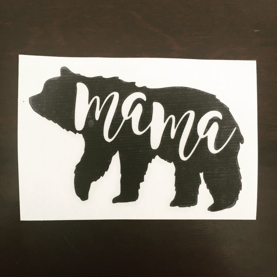 Mama Bear Decal From Blushandbashfulco On Etsy Studio