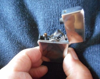 German Automatic Lighter Made In Germany Ca 1910 Serviced Tested & Working Very Very Good Condition