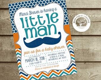 little man shower invitation boy shower mustache little gentleman mustache baby shower mustache bash coed baby shower invite mustache party