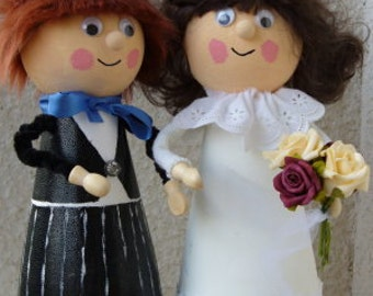 Bride and groom - gift decoration - table decoration