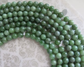 "Burma Jade, 12mm RARE, A+ Grade, Old Stock, ONE Full 16"" Strand REMAINS, 35 Beads, Genuine, Not Dyed, Not Canadian, Limited Quantity"