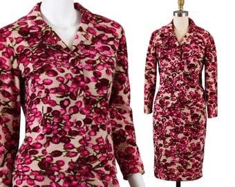 Rare Vintage 1950s Womens Suit, Maison Mendessolle Couture - S