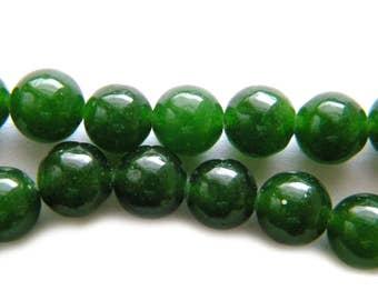 "15"" Strand 6mm Canadian Jade Beads"