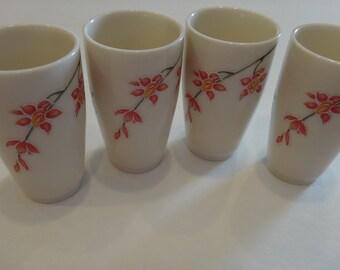 set of 4 Chinese aroma tea tasting cups