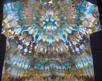 Men's 3X-Large Ice-Dyed T-Shirt