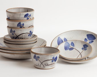 Stoneware dishes, plate set, dining, kitchen, ceramic dishes, pottery dish, dinnerware, ceramics and pottery, dinnerware, wedding, pottery