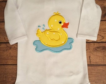 Rubber Ducky Shirt or Baby Bodysuit