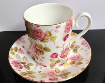 Royal Albert, England, 'Random Rose, coffee mug, 130cc, 1970's