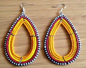 Handmade earring  -free shipping worldwide
