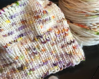 Be The Change Single Ply Super Squishy Merino Wool Yarn Hat Knitting Speckled Yarn Bulky Weight