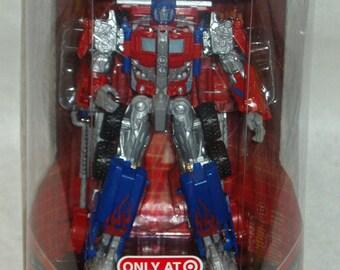 Transformers Hasbro 2006 Robo-Vision Optimus Prime Autobot Leader Target Exclusive MISB