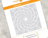 Printed template - Arabesque - additional foundation paper piecing sheets for the Arabesque pattern
