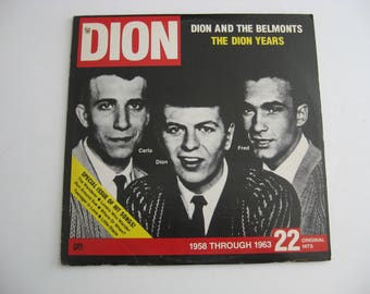 Dion And The Belmonts - The Dion Years - Double Album Set! -  Circa 1975