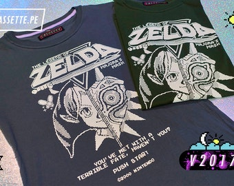 Cute Legend of Zelda, Majora's mask t-shirt, original design!