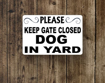 keep gate closed | etsy