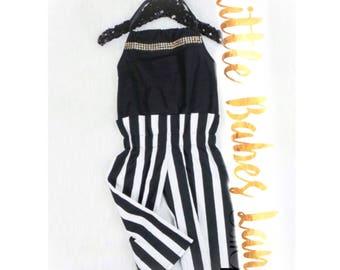 2 Piece Jumper Style Pant Romper