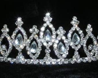 Style # 14968 - Diamond Tiers Tiara