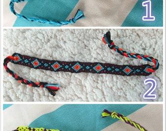 8 Different Kinds of Handmade Braided Friendship bracelet