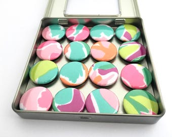 "Lilly Pulitzer ""Lulu"" Fabric Magnet Set"