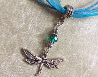 Dragonfly Necklace Pendant