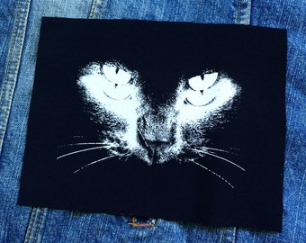 Black Cat patch, Punk Patch, Horror, Black