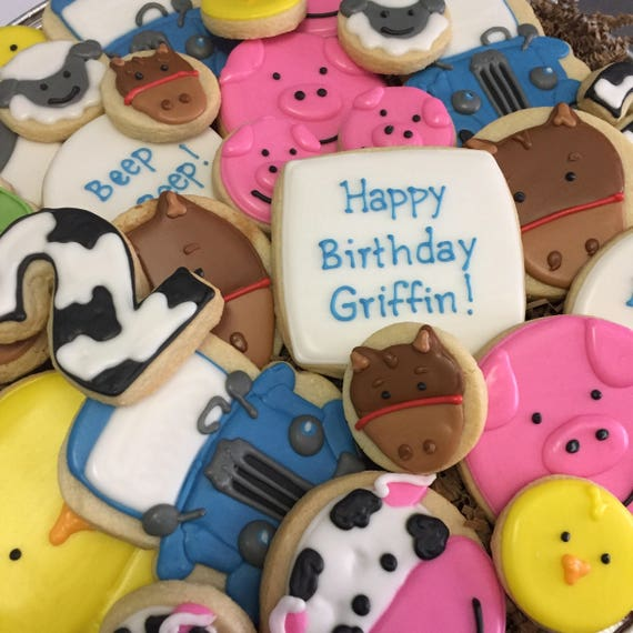 Barn Animal Cookies