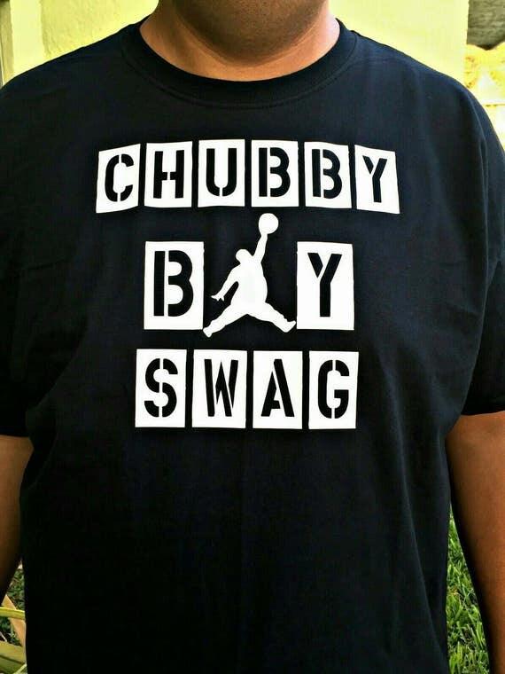 Chubby Boy Swag block letter Design