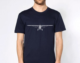 KillerBeeMoto: Limited Release Piper PA-18 Super Cub Airplane Short Or Long Sleeve T-Shirt