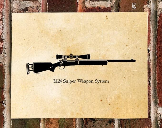 KillerBeeMoto: Limited Print M24 Sniper Weapon System