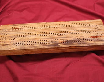 0370 Laminated Cribbage Board