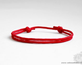 "cute as a button ""PARA Excellence / skinny - fire red"" Armband"