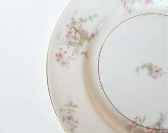 Mismatched China Theodore Haviland Dinner Plate For Wedding, Dinner Party, Bridal Shower, Luncheon, Brunch, Tea Party, Shabby Chic,