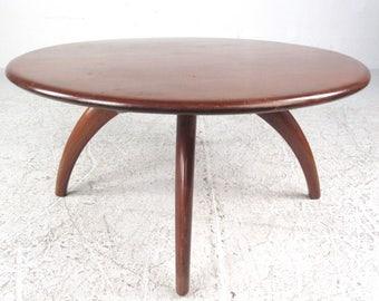 Mid-Century Modern Heywood Wakefield Rotating Coffee Table (9298)NJ