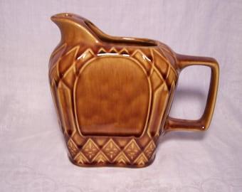 Golden Honey Ceramic Pitcher/Creamer