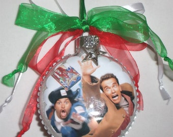 Jingle All the Way inspired Tribute Christmas Ornament