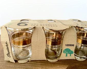 Pasabahce Art Deco Turkish Paşabahçe Çay Bardağı Tea Glass 6pcs