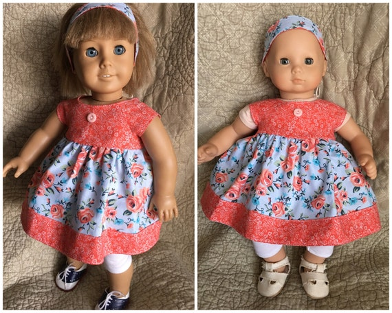Sale American Girl Bitty Baby Doll Clothes Dress