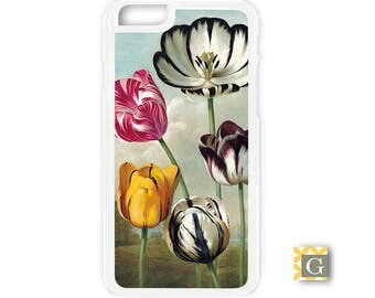 Galaxy S8 Case, S8 Plus Case, Galaxy S7 Case, Galaxy S7 Edge Case, Galaxy Note 5 Case, Galaxy S6 Case - Five Tulips