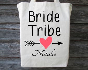 Bride Tribe Tote Bag, Bachelorette Party Tote, Bride Tribe Bag, Wedding Shower Tote, Bridal Party Tote, Bride Tribe, Wedding Party Gift