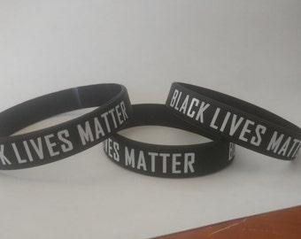 Black Lives Matter Wristband Adult, Youth, & Infant Sizes