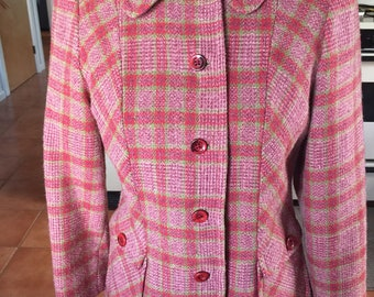 Vintage, Pendleton Plaid Blazer.