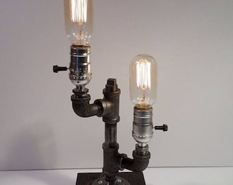 Dual table lamps