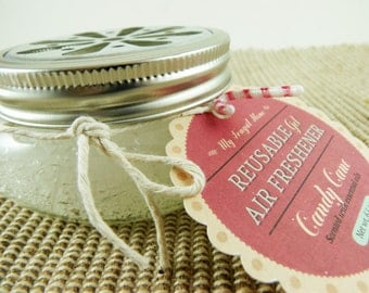 Reusable Gel Air Fresheners - Made with Essential Oils