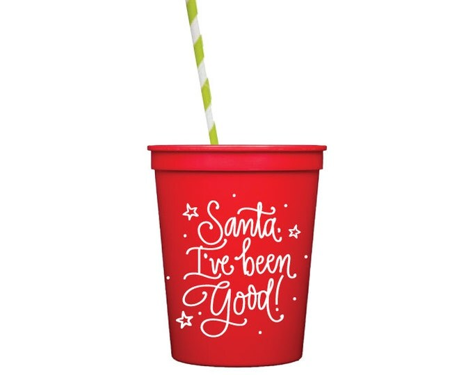 Christmas Kids Table Cups (Qty 6)