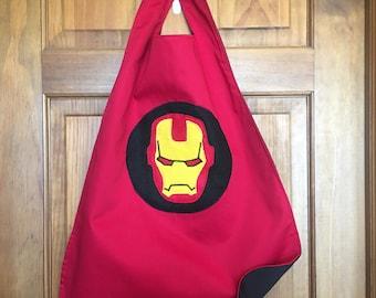 IRONMAN Kids Superhero Cape/Costume