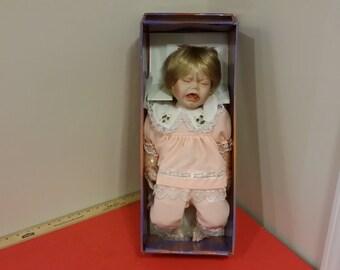 Vintage Ashley Belle Porcelain Doll Collectible Quality, Alison