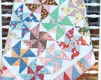 30s Playtime Baby Quilt Kit