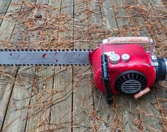 Chainsaw prop from Ash of Evil Dead