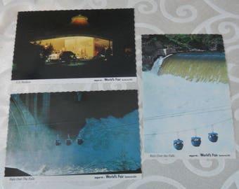 Spokane Expo 74 Official Postcards